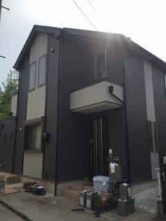 町田市M邸塗り替え!ナノコンポジット・屋根遮熱塗装!