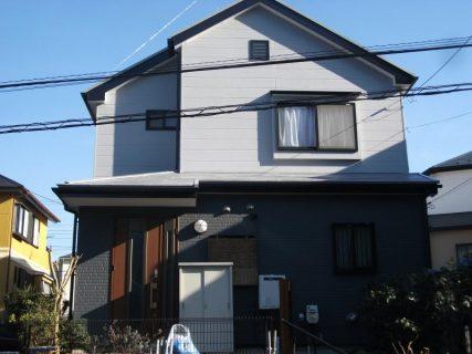 町田市O邸塗り替え!ナノコン・屋根遮熱塗装!