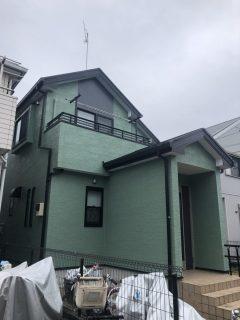 海老名市のS様邸で外壁屋根塗装!