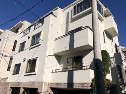 世田谷区で外壁ジョリパット屋根瓦棒施工